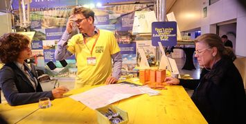 MadeWithInterreg stand and exhibition activities